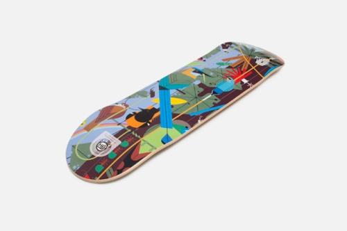 Charley-Harper-HABITAT-Skate-01