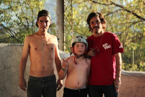 Max Barrera, alfredo Franco, Luka Barrena