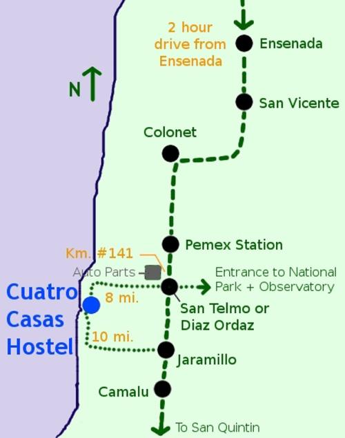 cuatro-casas-hostal-mapa