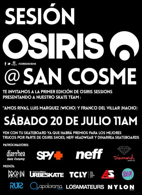 OSIRIS@SANCOSME