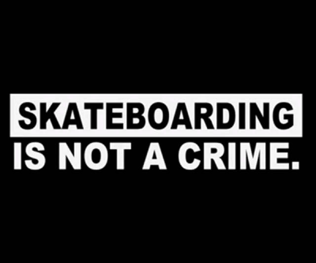 skateboarding is not a crime essays